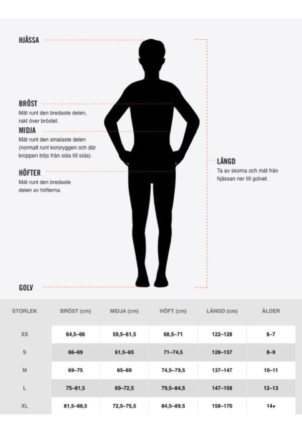 Storlekar Nike JR